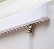 Slimline Clear Tape Hangers The Gallery Systems