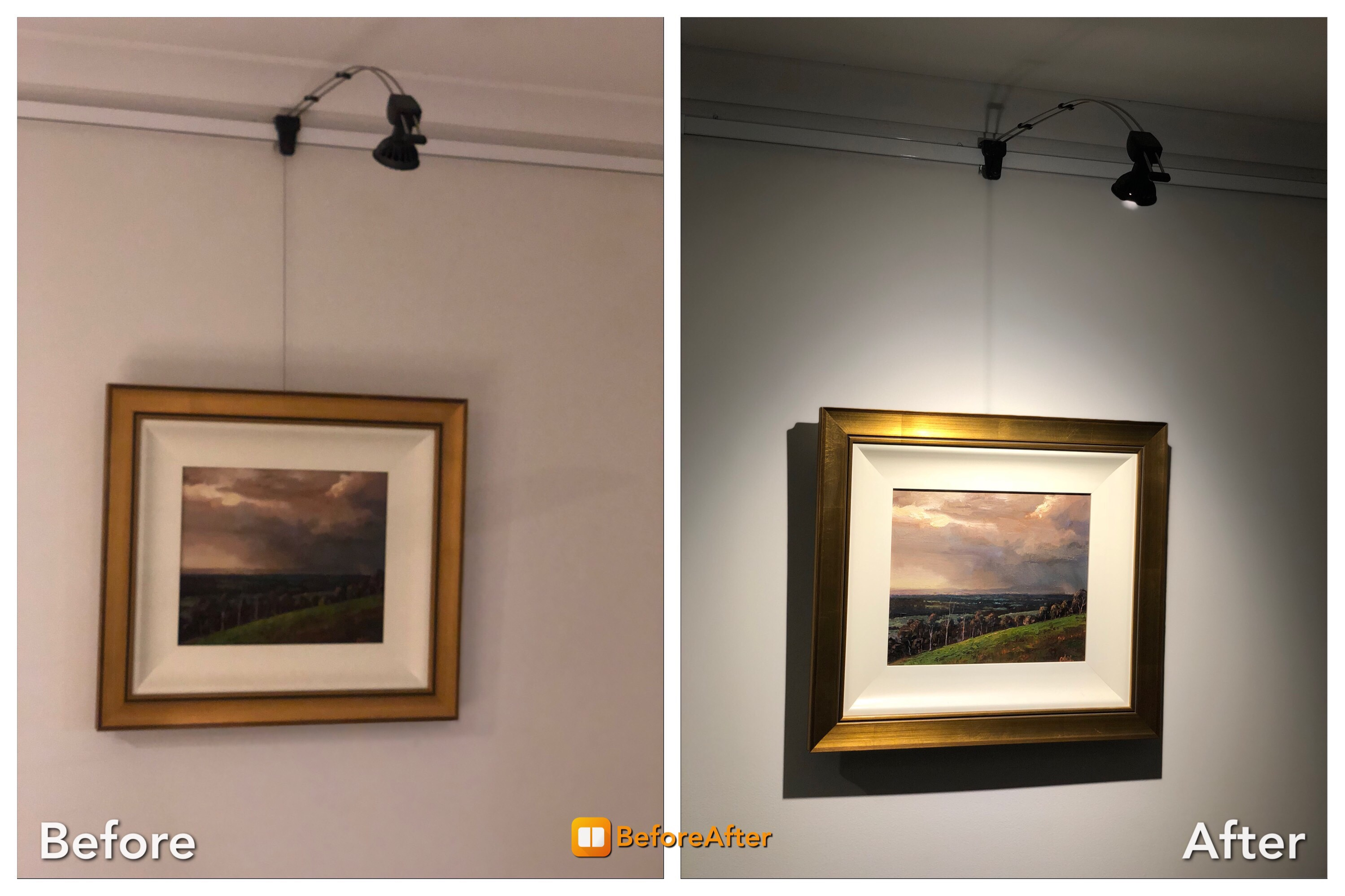 Art gallery lighting systems australia the gallery system