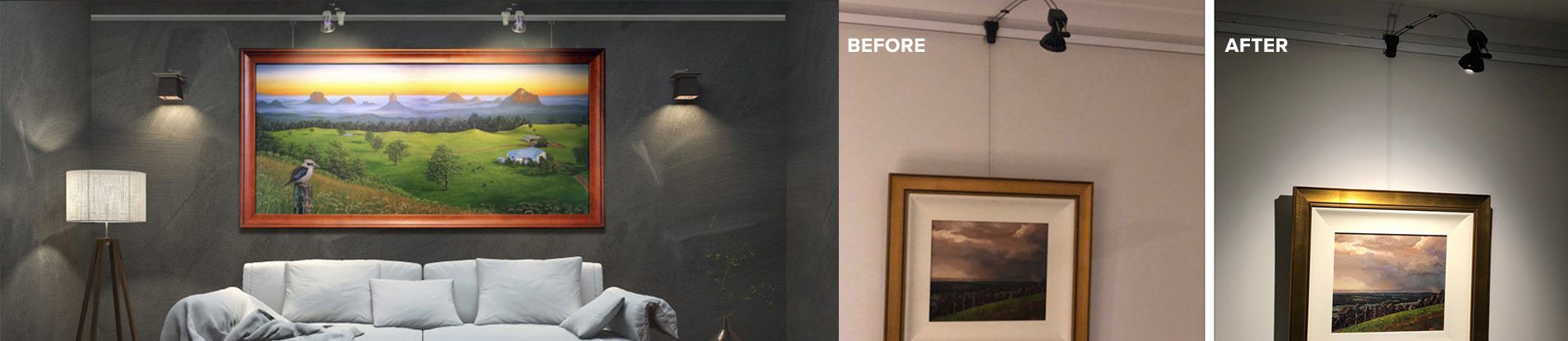Gallery lighting system